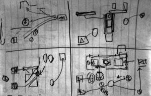 Apple Bin - early level designs